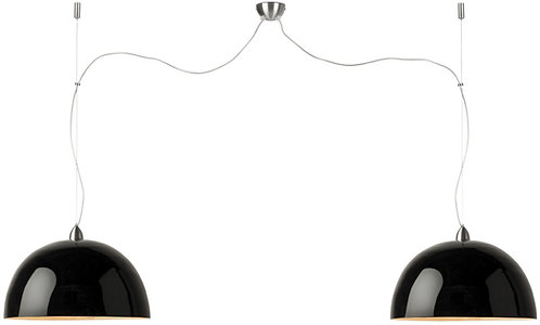 HALONG hanging lamp double black