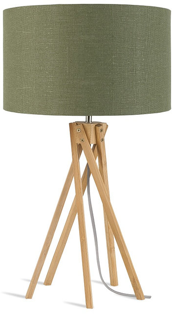 KILIMANJARO table lamp w/forest green shade