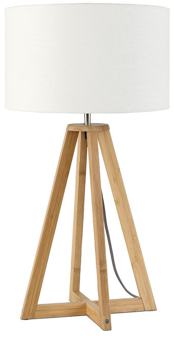 EVEREST table lamp w/white shade