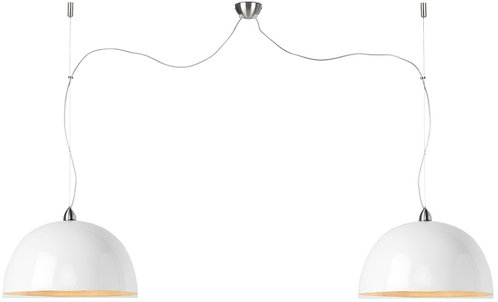 HALONG hanging lamp double white