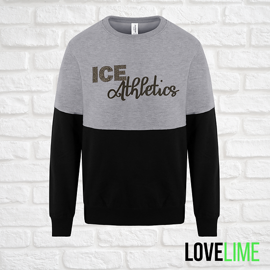 Adult 2 Colour Block Sweatshirt