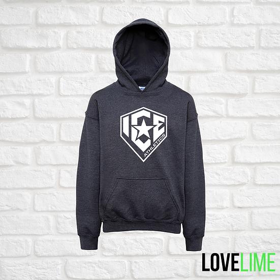 Dark Grey Logo Hoodie
