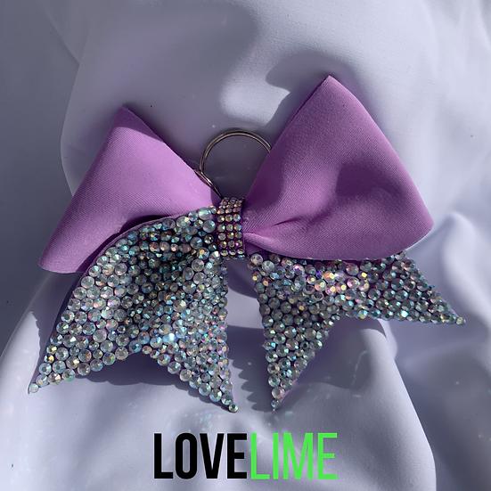 Lilac Princess Bow Keyring