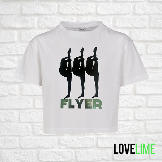 Flyer Cropped Tee