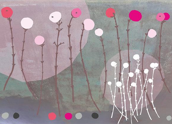 Pink Berries Design