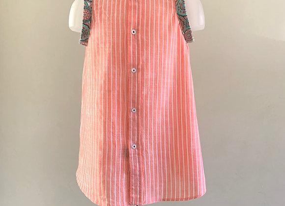 Upcycled Raph Lauren Polo Children's Dress