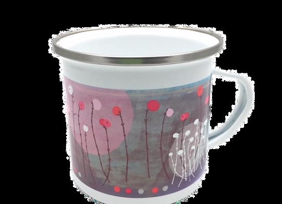 Berries Enamel Mug