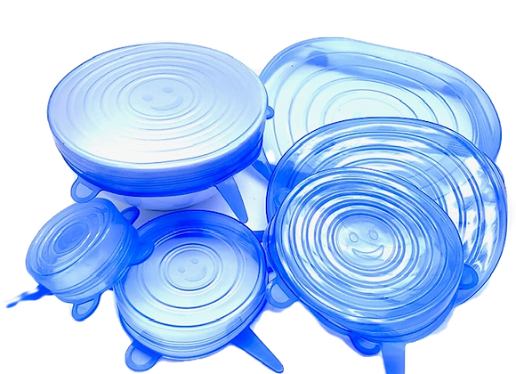 Silicone Pot Covers - Set of 6
