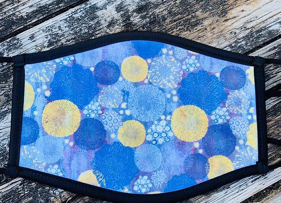 Lichen Design Face Covering
