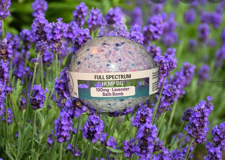 100mg Bath Bomb - Lavender