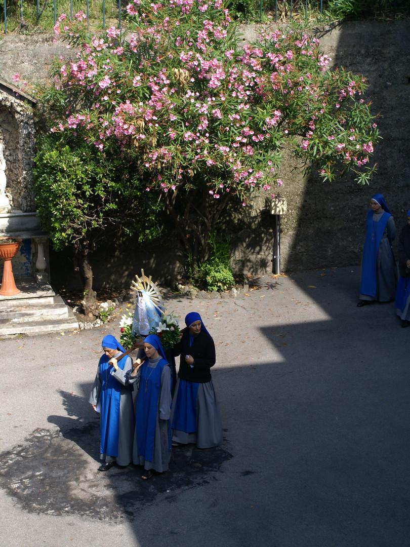 Monasterio Beata Vittoria- casa de formcación-
