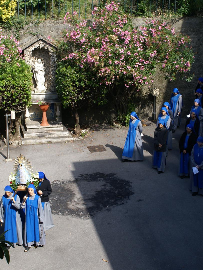Monasterio beata Vittoria -casa de formación-