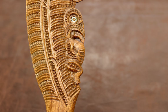 Carved wahaika