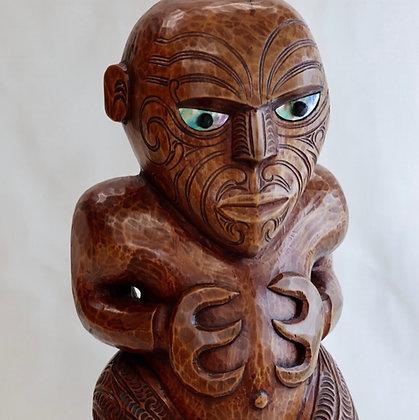 Maori Tekoteko figure