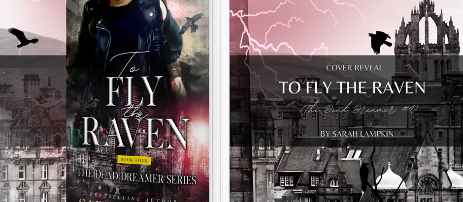 HAPPY COVER REVEAL: To Fly the Raven by Sarah Lampkin