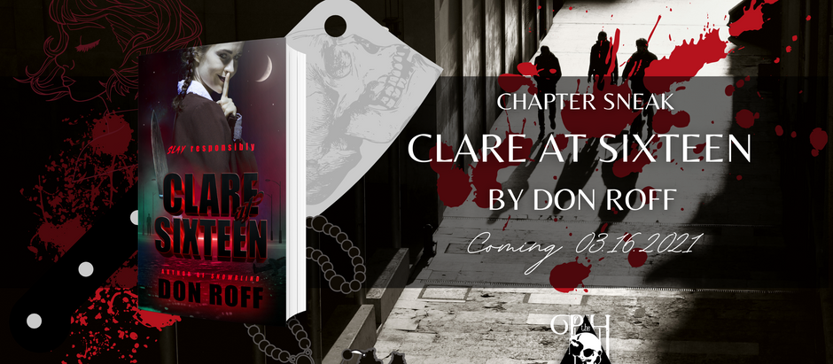 READ THE FIRST FEW CHAPTERS: Clare at Sixteen by Don Roff