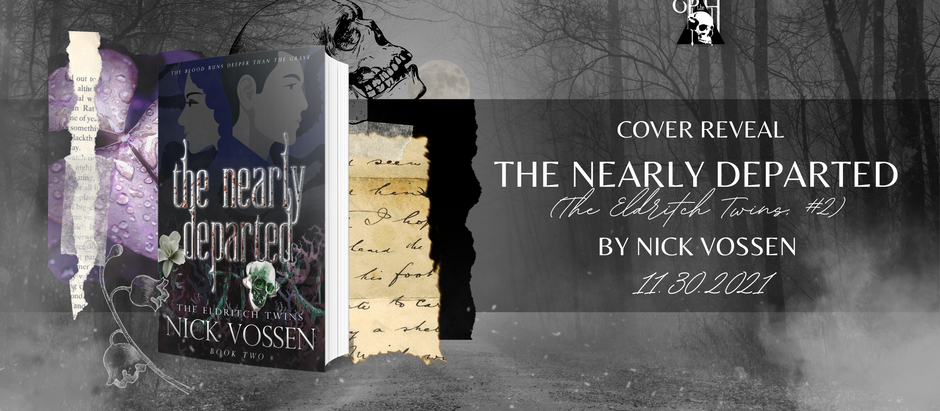 HAPPY COVER REVEAL: The Nearly Departed by Nick Vossen