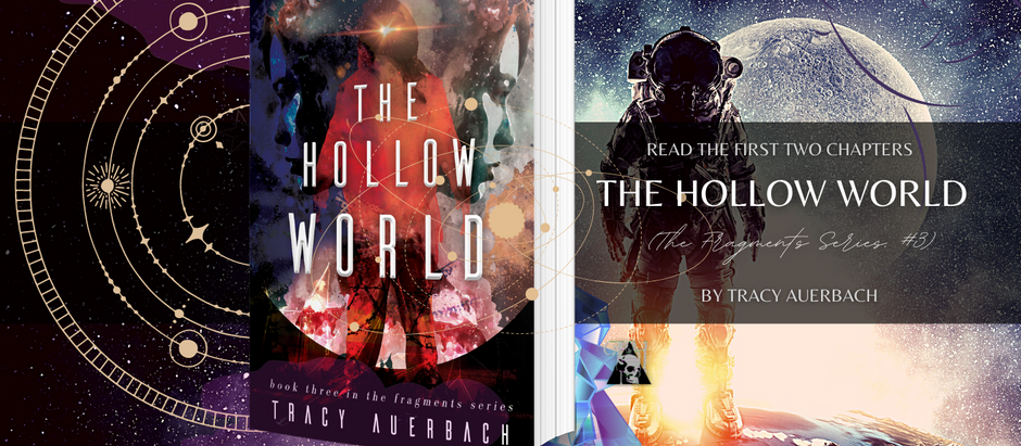 HAPPY RELEASE DAY: The Hollow World by Tracy Auerbach