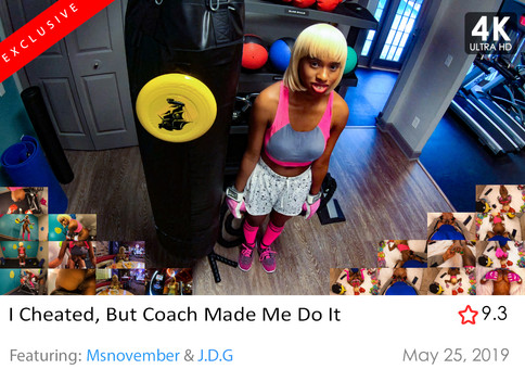 I Cheated, But Coach Made Me Do It  Mast