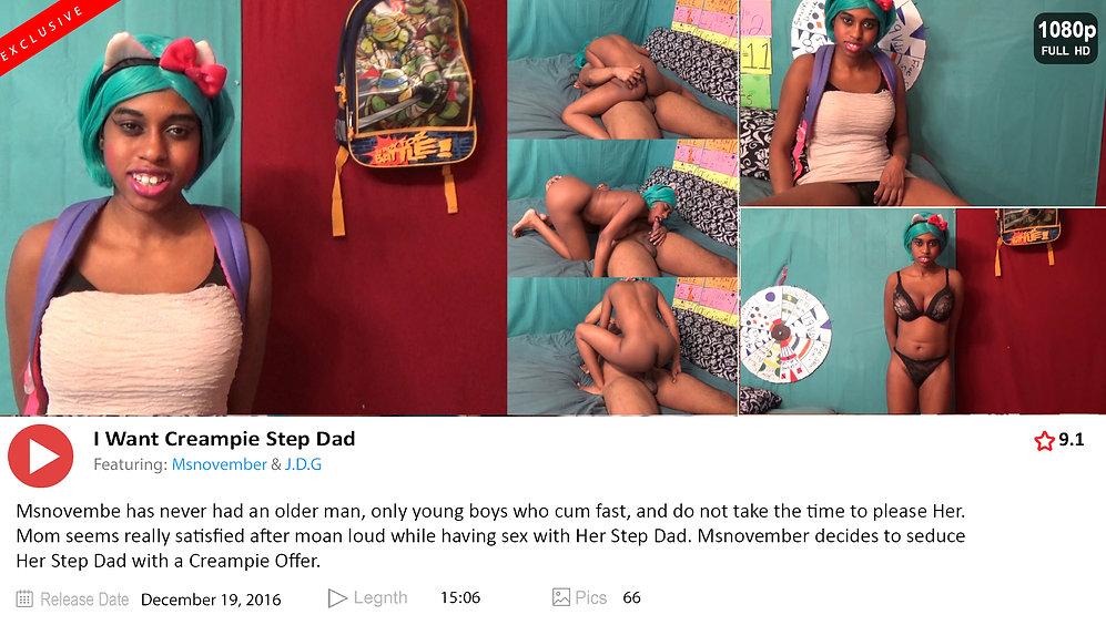 8 msnovember I Want Creampie Step Dad sh