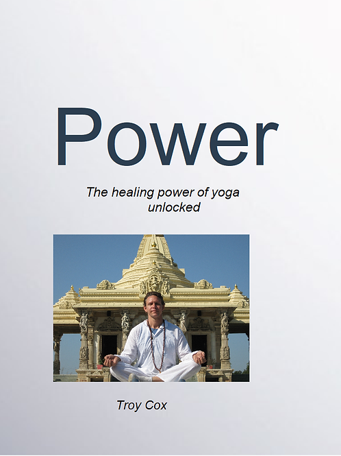 Power of Yoga E Book and Course.  Raise your power with yoga