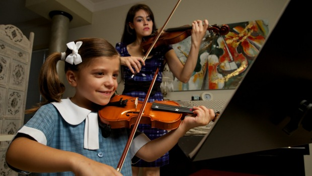 Monica Violin Teacher Sydney
