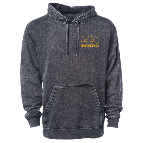 Midweight Mineral Wash Hooded Sweatshirt