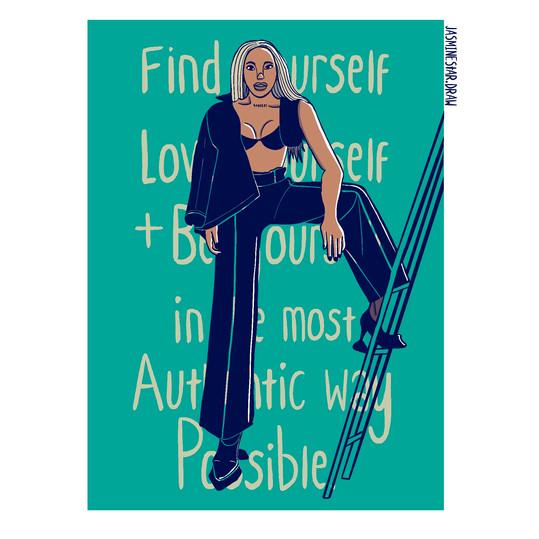 'LOVE YOURSELF' By Jasmine Star