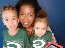 Terrene A. Davenport and her children