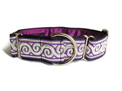 Woven Purple Swirls