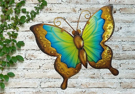 25cm-butterfly-glass-wall-art---yellow-b