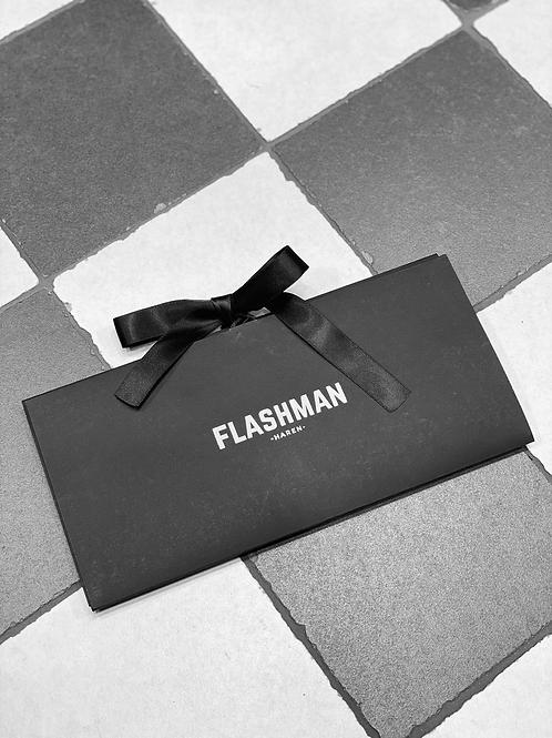 Cadeaubon Flashman €250