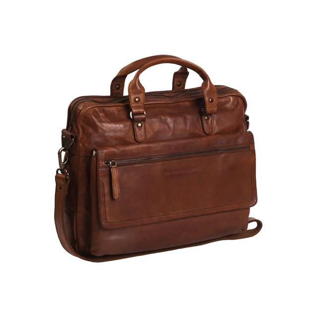 the Chesterfield Brand laptoptas cognac €229,95