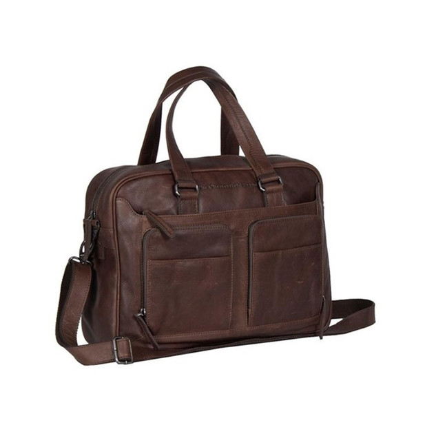 the Chesterfield Brand businesstas bruin €189,95