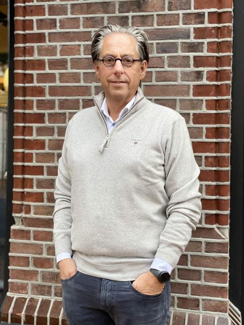 451. Gant pullover lamswol rits €149,95