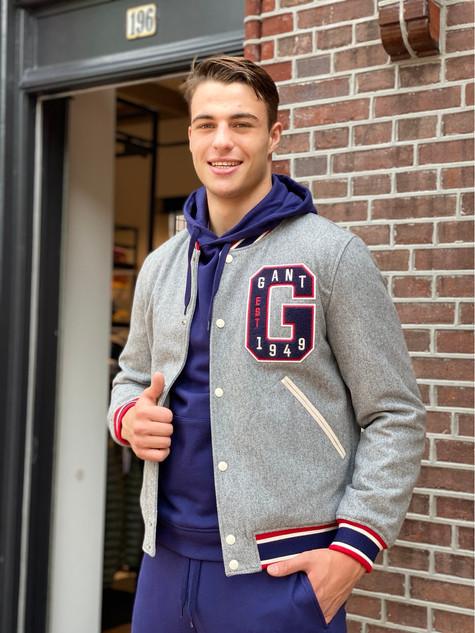 434. Gant varsity jack €399,95