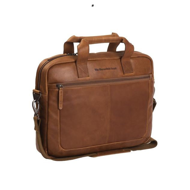 the Chesterfield Brand laptoptas cognac €139,95
