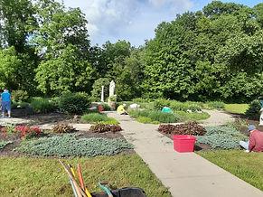 Grace Memorial Garden cleanup 6 8 2021 6