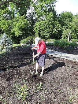 Grace Memorial Garden cleanup 6 8 2021 3