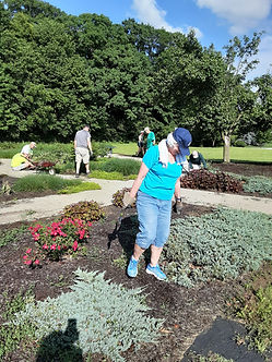 Grace Memorial Garden cleanup 6 8 2021 4