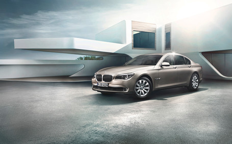 BMW 7er Front Fotograf Stephan Bayer