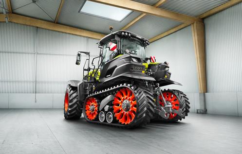 Claas Axion Terra Trac Traktor Fotograf Stephan Bayer