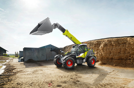 Claas Scorpion Traktor Fotograf Stephan Bayer