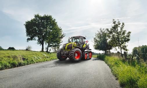 Claas Axion Traktor Fotograf Stephan Bayer