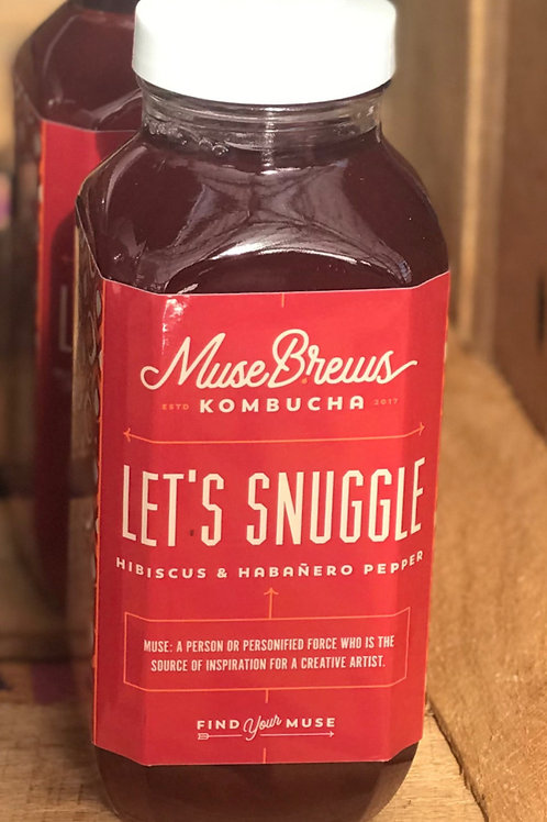 Let's Snuggle - Hibiscus & Habnero Pepper (1 - 16 oz bottle)