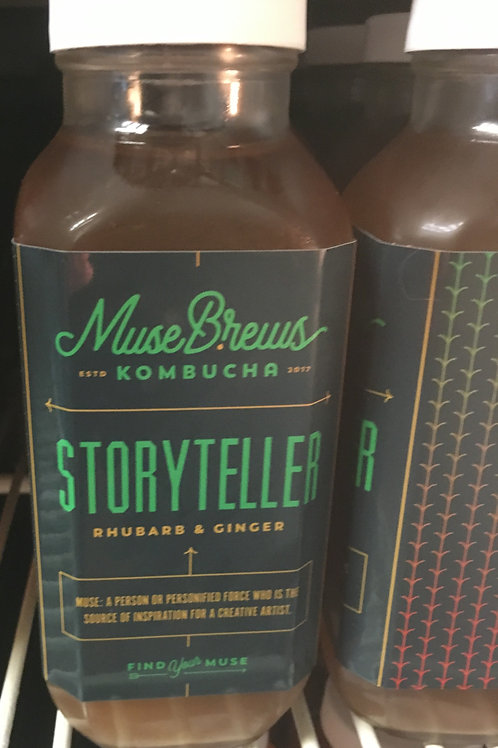 Storyteller - Rhubarb & Ginger (1 - 16 oz bottle)