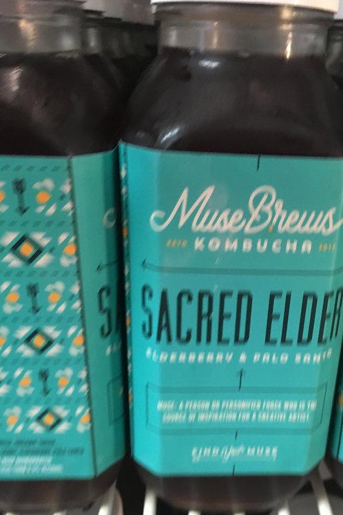 Sacred Elder - Elderberry & Palo Santo wood (1 - 16 oz bottle)