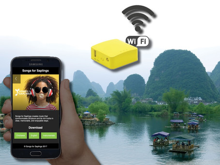 What is the SFS Offline WiFi Device?