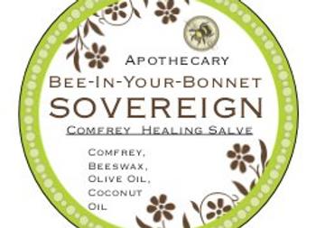 Sovereign Comfrey Healing Salve