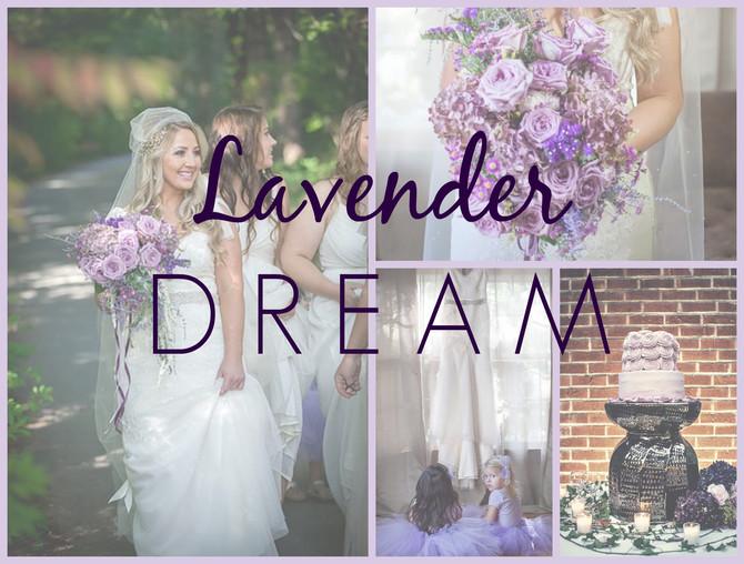 Lavender Dream - A wedding story.